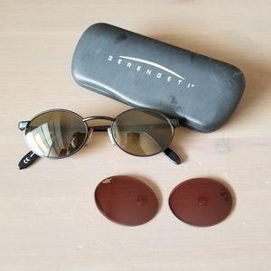 Vintage Serengeti Sunglasses